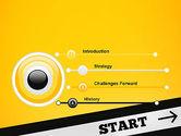 Start On PowerPoint Template#3