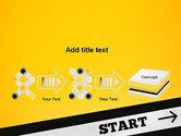 Start On PowerPoint Template#9