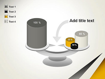 Two Triangular Shapes PowerPoint Template Slide 10