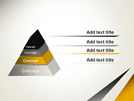 Two Triangular Shapes PowerPoint Template Slide 12