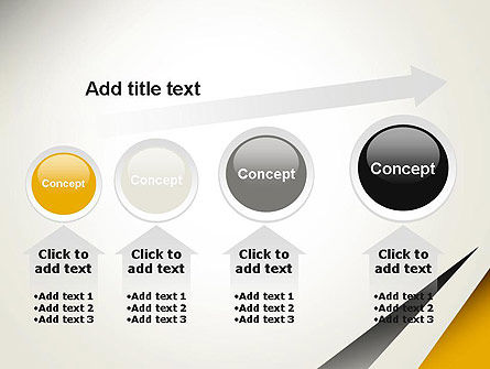 Two Triangular Shapes PowerPoint Template Slide 13