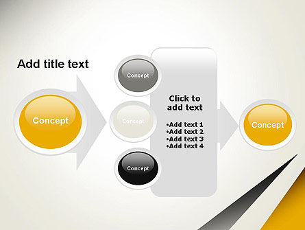 Two Triangular Shapes PowerPoint Template Slide 17