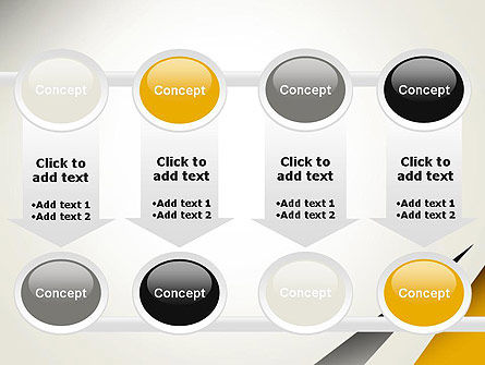 Two Triangular Shapes PowerPoint Template Slide 18
