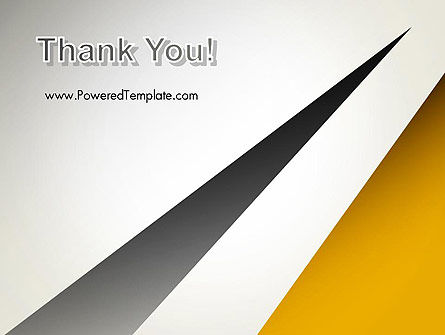 Two Triangular Shapes PowerPoint Template Slide 20
