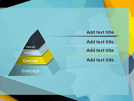 Flat Designed Cogwheel Abstract PowerPoint Template Slide 12
