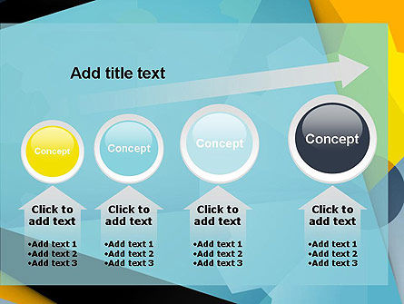 Flat Designed Cogwheel Abstract PowerPoint Template Slide 13