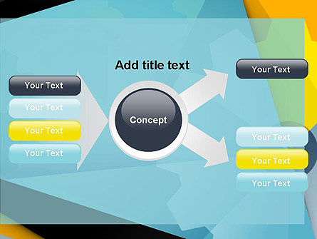 Flat Designed Cogwheel Abstract PowerPoint Template Slide 14