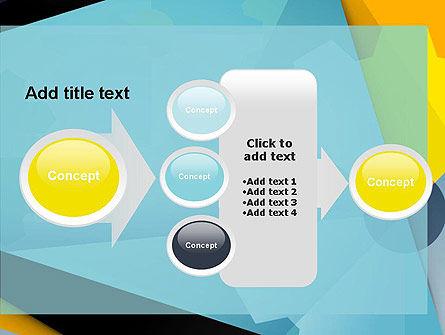 Flat Designed Cogwheel Abstract PowerPoint Template Slide 17