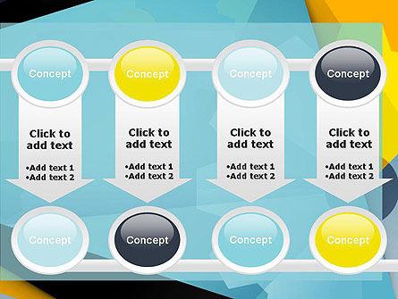 Flat Designed Cogwheel Abstract PowerPoint Template Slide 18