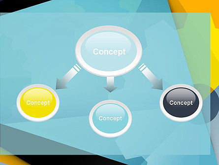 Flat Designed Cogwheel Abstract PowerPoint Template, Slide 4, 13869, Utilities/Industrial — PoweredTemplate.com