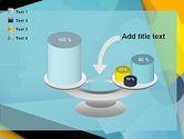 Flat Designed Cogwheel Abstract PowerPoint Template#10