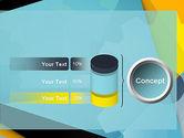 Flat Designed Cogwheel Abstract PowerPoint Template#11