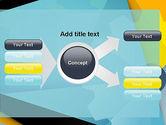 Flat Designed Cogwheel Abstract PowerPoint Template#14