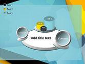 Flat Designed Cogwheel Abstract PowerPoint Template#16