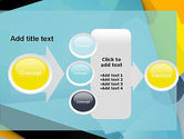 Flat Designed Cogwheel Abstract PowerPoint Template#17