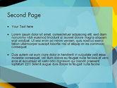 Flat Designed Cogwheel Abstract PowerPoint Template#2