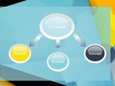 Flat Designed Cogwheel Abstract PowerPoint Template#4