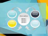 Flat Designed Cogwheel Abstract PowerPoint Template#6