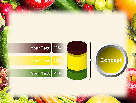 Love Fruit and Veg PowerPoint Template Slide 11