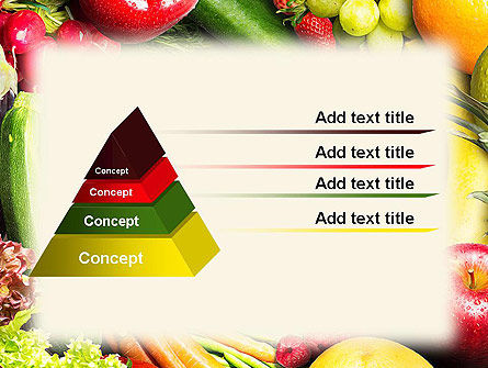Love Fruit and Veg PowerPoint Template Slide 12