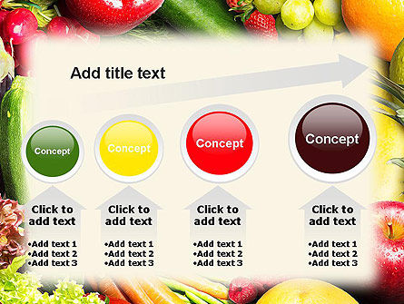 Love Fruit and Veg PowerPoint Template Slide 13