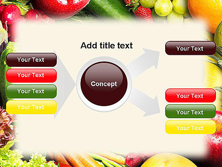 Love Fruit and Veg PowerPoint Template Slide 14