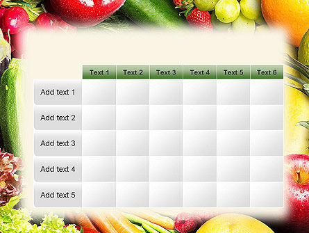 Love Fruit and Veg PowerPoint Template Slide 15