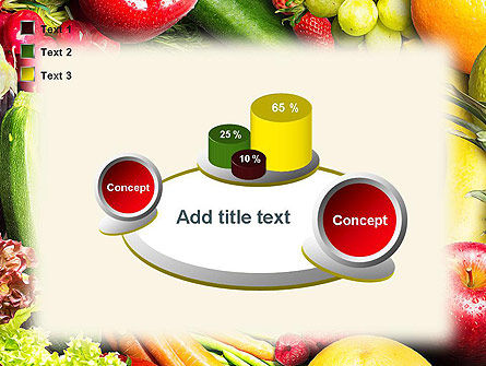Love Fruit and Veg PowerPoint Template Slide 16