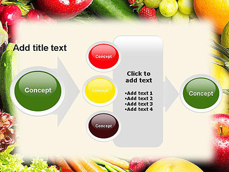 Love Fruit and Veg PowerPoint Template Slide 17