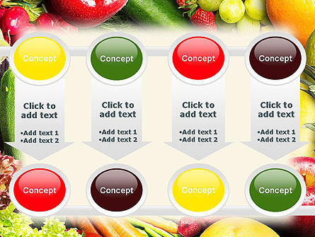 Love Fruit and Veg PowerPoint Template Slide 18