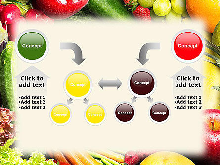 Love Fruit and Veg PowerPoint Template Slide 19