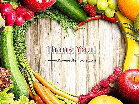 Love Fruit and Veg PowerPoint Template Slide 20