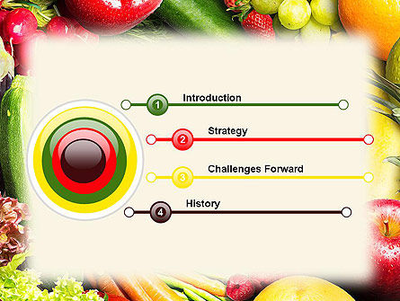 Love Fruit and Veg PowerPoint Template Slide 3