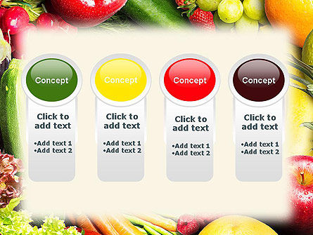 Love Fruit and Veg PowerPoint Template Slide 5