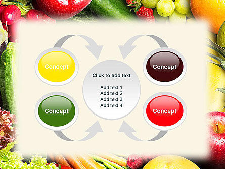 Love Fruit and Veg PowerPoint Template Slide 6