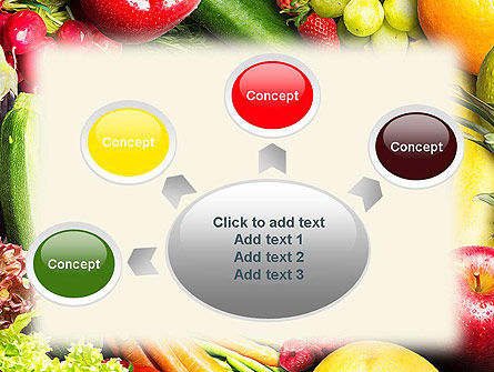 Love Fruit and Veg PowerPoint Template Slide 7