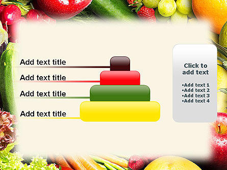 Love Fruit and Veg PowerPoint Template Slide 8