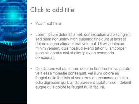 Digital Technology Abstract PowerPoint Template, Slide 3, 13872, Technology and Science — PoweredTemplate.com