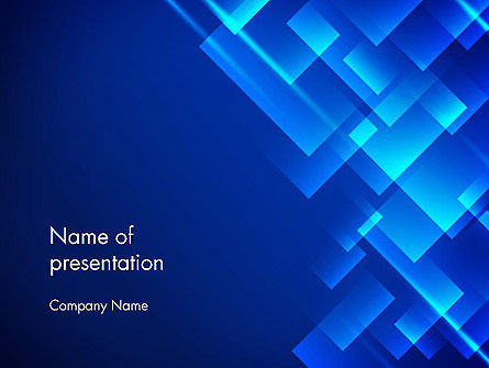 Abstract Blizzard PowerPoint Template