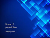 Abstract/Textures: Abstract Blizzard PowerPoint Template #13876
