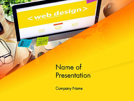Web Design Services PowerPoint Template