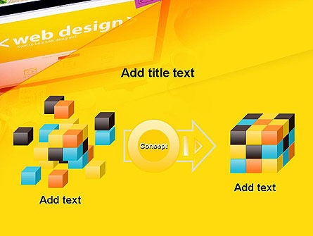 Web Design Services PowerPoint Template Slide 17