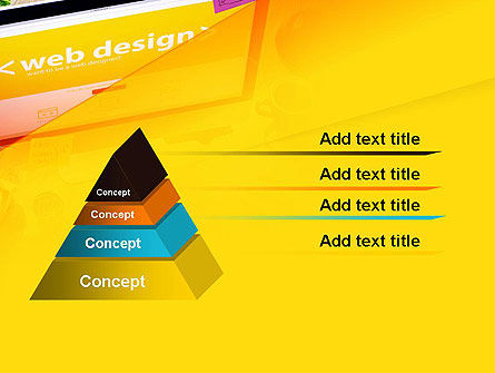 Web Design Services PowerPoint Template Slide 4