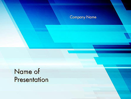 Velocity Abstract PowerPoint Template, 13885, Abstract/Textures — PoweredTemplate.com