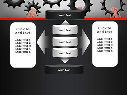 Gears Engagement PowerPoint Template Slide 13