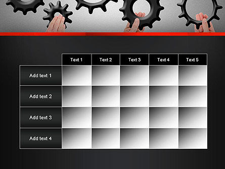 Gears Engagement PowerPoint Template Slide 15