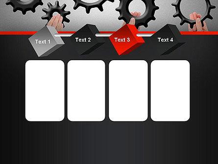 Gears Engagement PowerPoint Template Slide 18
