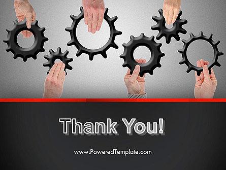 Gears Engagement PowerPoint Template Slide 20