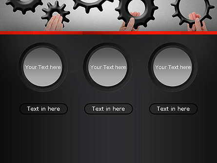 Gears Engagement PowerPoint Template Slide 5