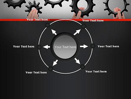 Gears Engagement PowerPoint Template Slide 7